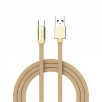 Type c usb cable gold ruby series 1m