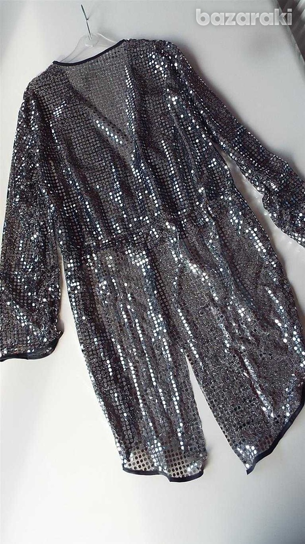 Carnival silver sequin tailcoat-2