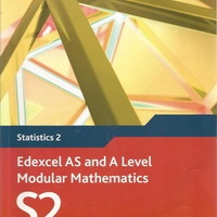 Edexcel as and a level modular mathematics - statistics 2 textbook