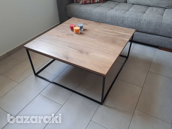Black walnut coffee table-2