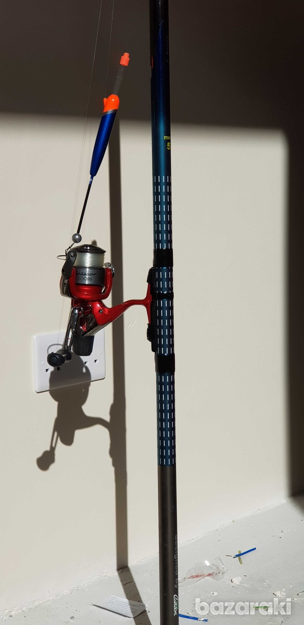 Exclusive fishing rod 5 metres with spinning reel-3