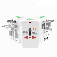 Universal travel charger adaptor