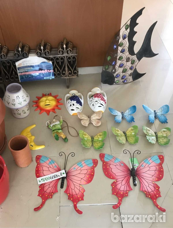 Assortment of items for outside in garden or on sun terrace or indoors-1