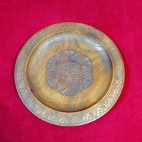 Wooden display plate