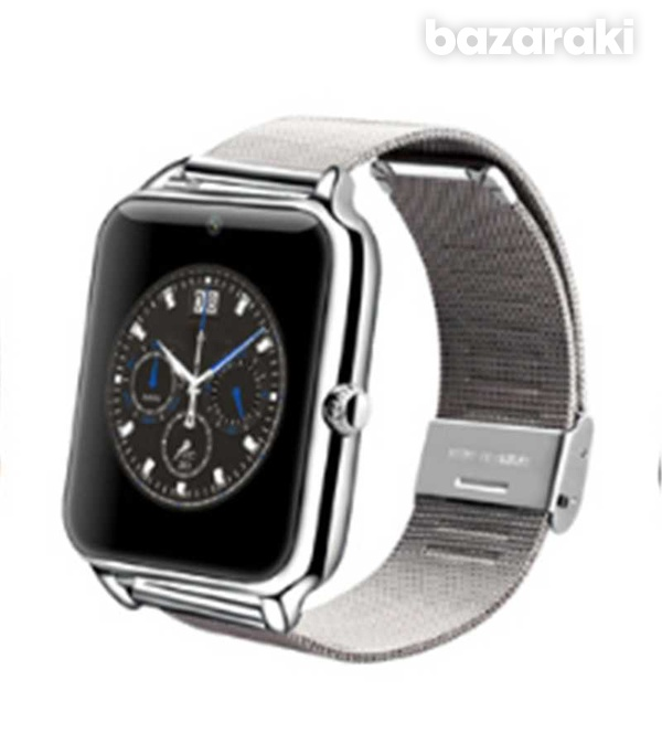 Smart watch stainless steel for android ios iphone-4