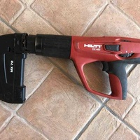 Hilti nail gun with magazine nails