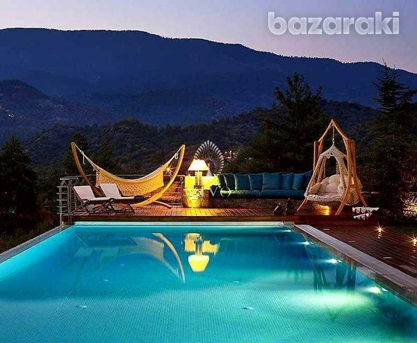 Under construction breathtaking mountain villa with panoramic views-7