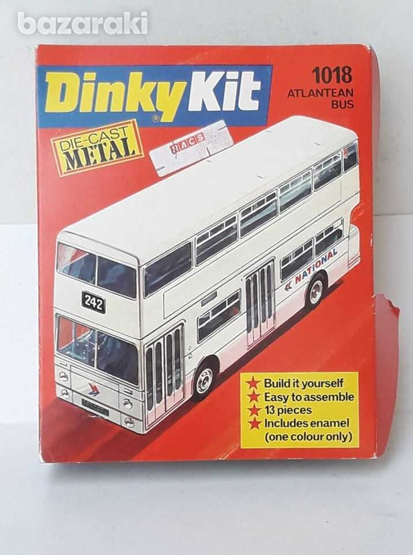 Vintage 70s collectible meccano dinky kit metal diecast model 1018 atl-2