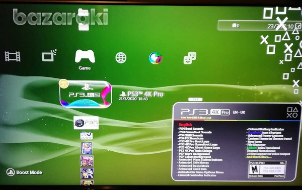 Ps3-4 for fix clean and program with games+grafics ps4 - service-3