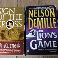 Two english paperback novels