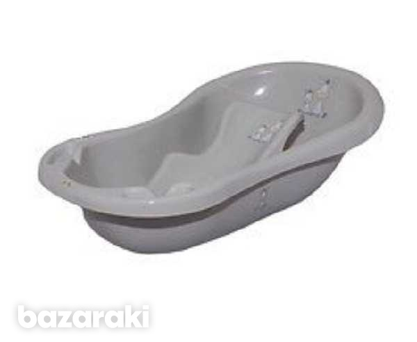 Baby bathtub with stand-1