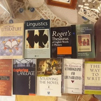 University english language literature books