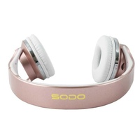 Sodo mh1 nfc 2in1 twist-out bluetooth speaker headphone