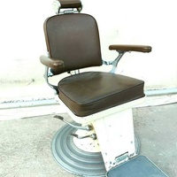 Vintage 40s-50s german olymp barber chair in very good working condition