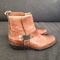 Cherokee motorcycle leather boots 40