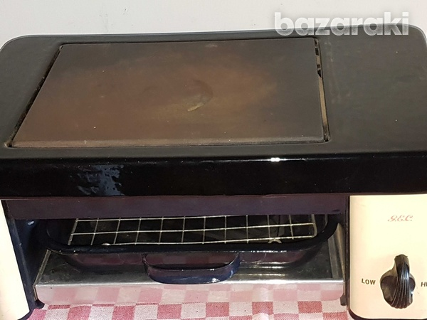 Vintage electric small oven-2