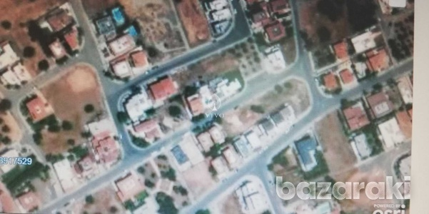 Residential building plot of 750 m2 in anthoupolis -ypsonas