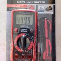 Dgital multimeter with accessories brand new in sealed box.