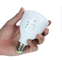 Rechargeable led emergency bulb