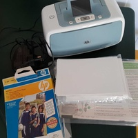 Hp photo printer with photo paper