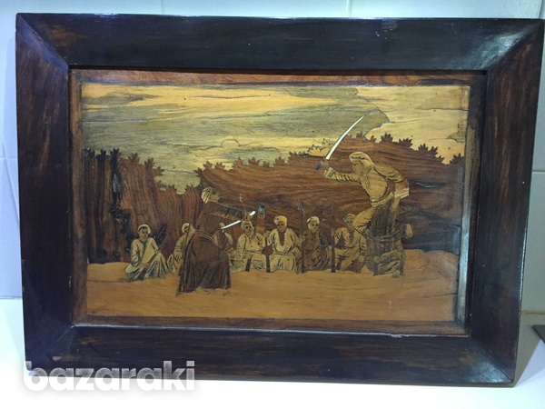 Wooden painting w-21 h-15inch-1