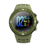 F18 gps sports camping smartwatch waterproof bluetooth touch screen