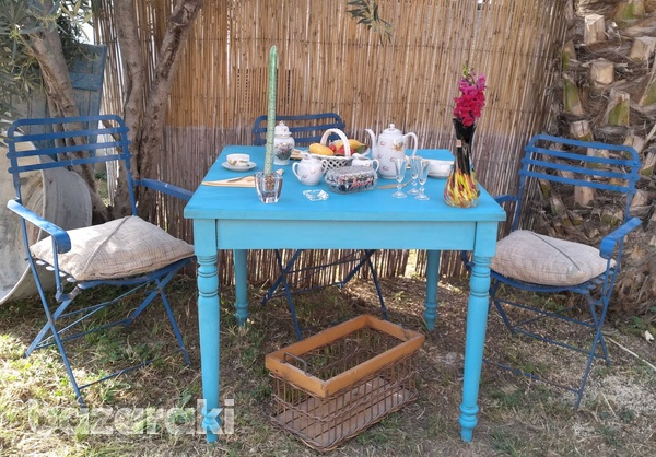 Traditional cypriot table.-1