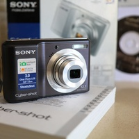 Sony dsc-s2100 cyber-shot black