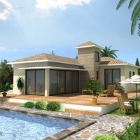 4 bedroom bungalow on large plot in souni limassol