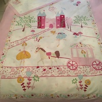 Duvet cover and pillowcase, single bed size