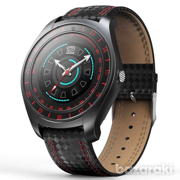 New v10 smart watch carbon phone mate heart rate monitor sim card slot-6
