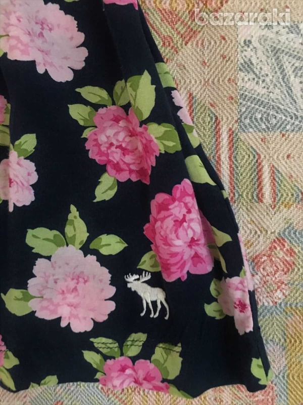 Abercrombie and fitch kids girls floral dress sz m-5