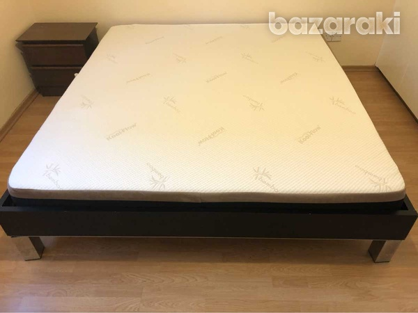 Tempflow selene foam mattress 180 x 200 including bed frame + delivery-2