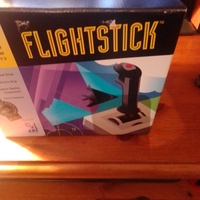 Flightstick ch products vintage - retro contoller like new condition