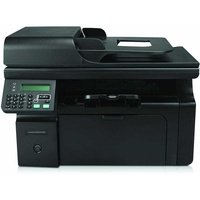 Hp laserjet m1212nf mfp used a ethernet usb a4 multifunction bw