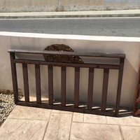 New wood fence panel. size 152cms in length / 84cms in height