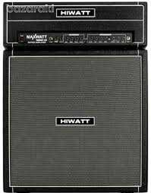 Hiwatt maxwatt g200 head 200watts - 4x12 cab guitar amp amplifier new