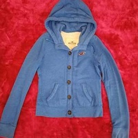 Wow hollister by abercrombie and fitch a and f womens hoodie sz small