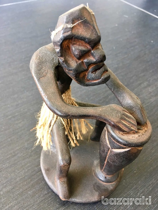Devil with a drum from bali-3