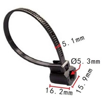 Cable strap toyota 82678-a9004