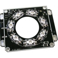 Infra red illuminator for 12v housings 7 high power led 20m range