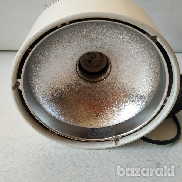 Staff german ceiling light fitting, has crack on one side working-3