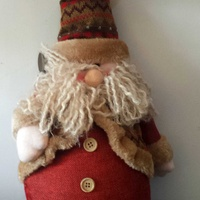 Santa claus christmass plush 31cm tall