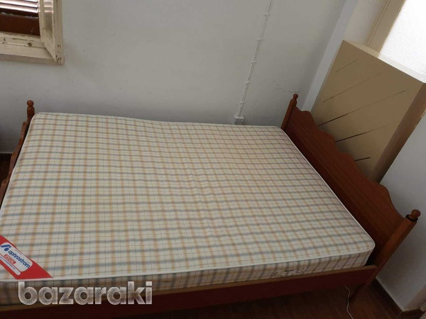 Double bed with mattress-2