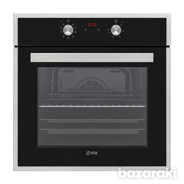 Vox ebb 6505 built-in oven, a,10 programms with grill, 69lt, black