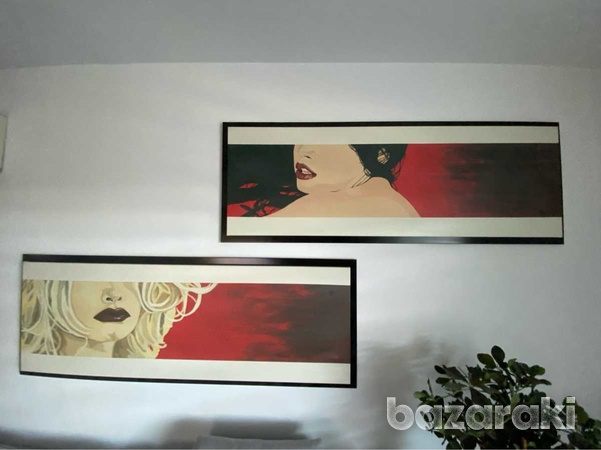 Paintings from bizart set, excellent condition-1