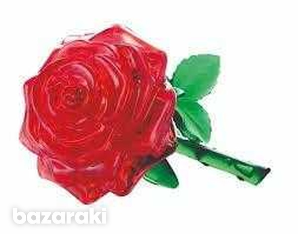 3d rose crystal puzzle-2