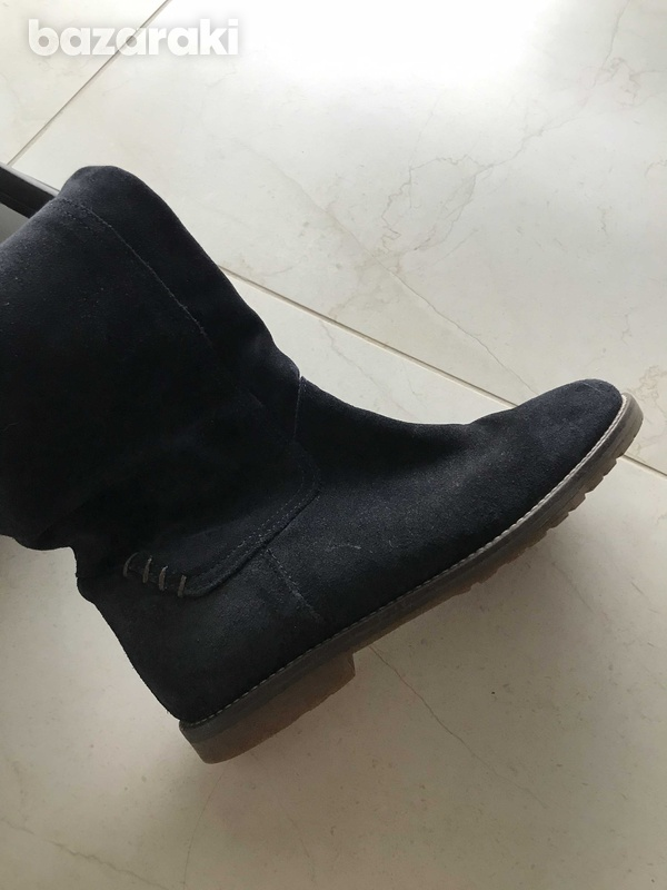 Tommy hilfiger suede boots-5