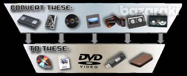 Vhs tapes to usb