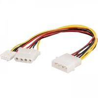 Molex to molex extension and floppy cable
